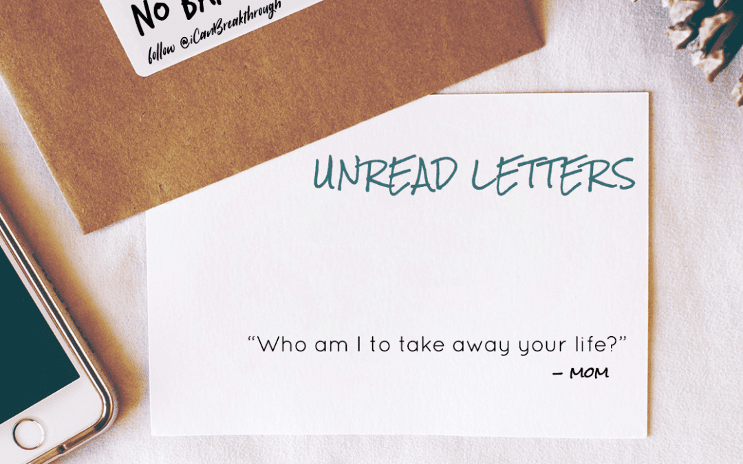 Who Am I To Take Away Your Life? – Unread Letters
